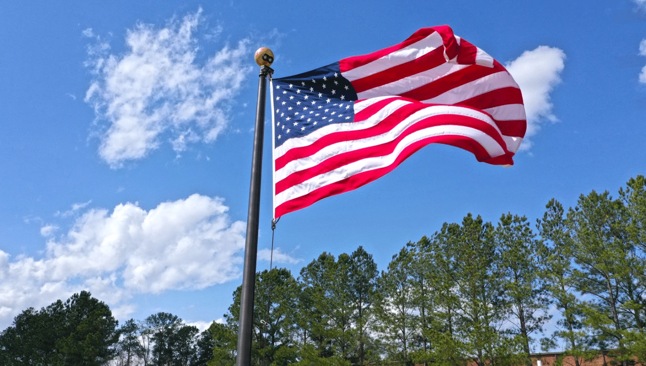 US Outdoor Flags
